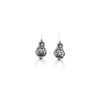 Black Diamond Amour Drop Earrings