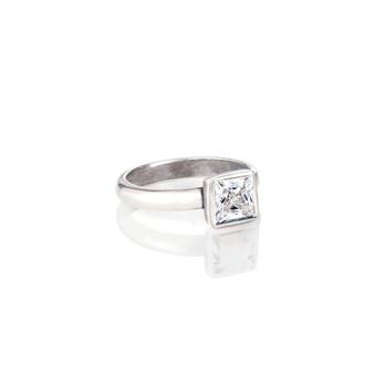 Square Crystal Ring (RR143 K/N/P/R)