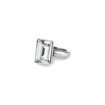 Temptation Rectangular Crystal Ring (RR76 /K/N/P/R)