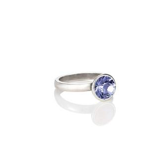 Petite Glam Rock Tanzanite Ring ( RR131 K/N/P/R )