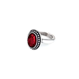 Navaho Oval Siam Ring