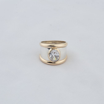 Two-Tone Cocktail Ring (RR17)