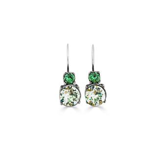 Tropical Jade Drop Earrings