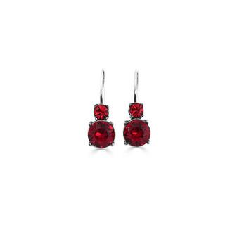Red Romance Drop Earrings