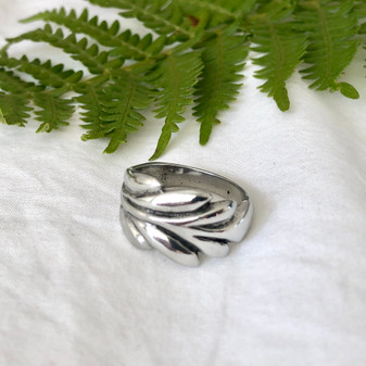 Fern Ring - Sterling Silver 925 / Nature Jewellery / Gifts For Her / Floral Jewellery / Gift Ideas / Everyday Jewellery
