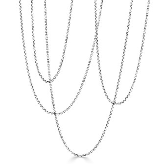 Sterling Silver 925 Belcher Necklace