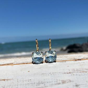 Caprice Gold Drop Earrings