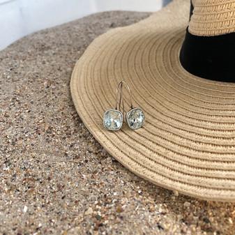 Seaside Light Azure Drop Earrings