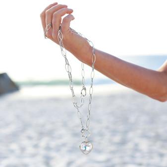 Seaside Heart Pendant