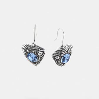 Light Sapphire Earrings (E2728)