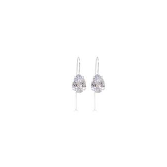 Bold Ocean Dream Sterling Silver Drop Earrings