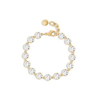 Gold A-List Bracelet