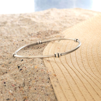 Navaho Sterling Silver Bangle S/M/L
