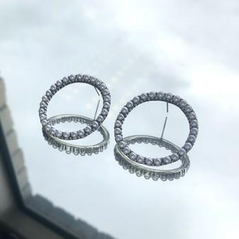 Karlie Pearl Stud Earrings
