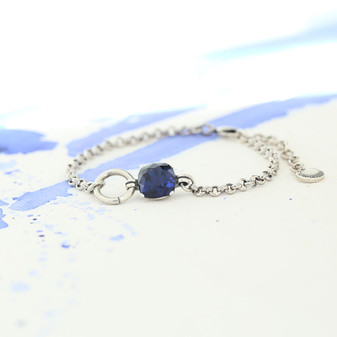 Indigo Sapphire Bracelet