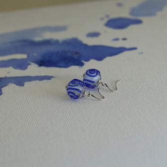 Sapphire Dreams Drop Earrings