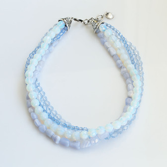 Air Blue Opal Magic Necklace