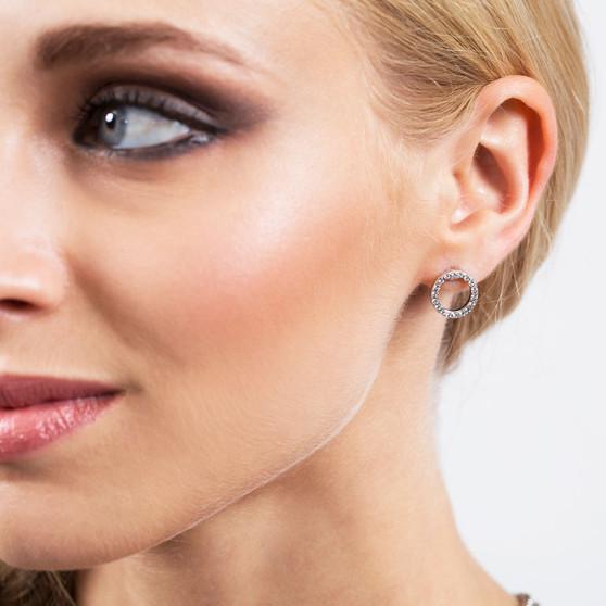 Illusion Stud Earrings