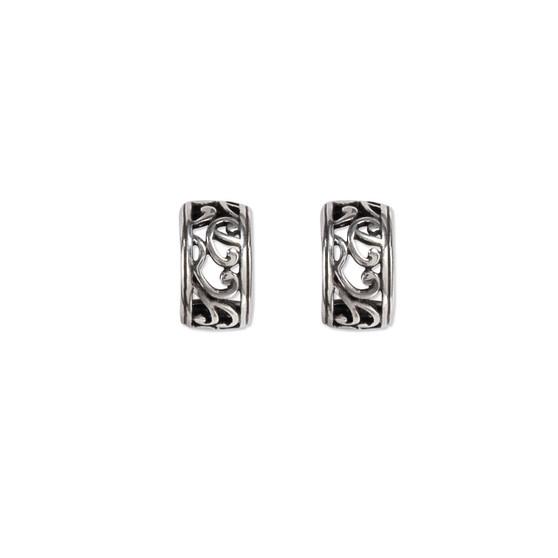 Paisley Hoop Earrings (E447)