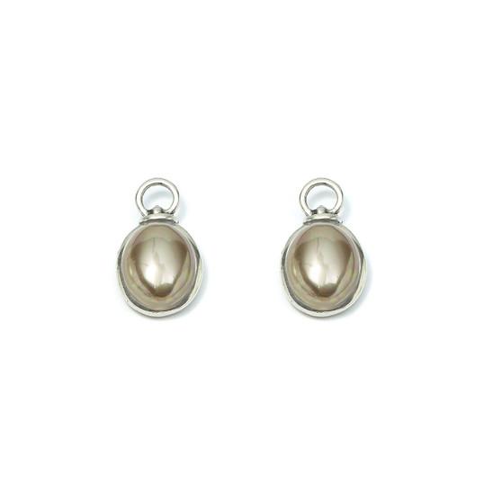 Mala Pearl Earring Charms (E4224)-R399