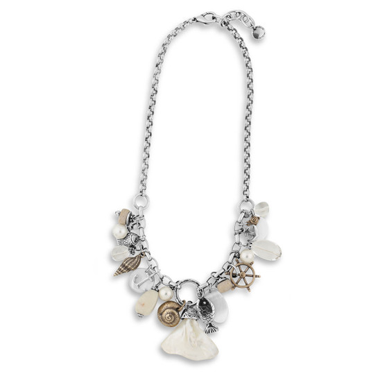 Classic Mother of Pearl Necklace (N2001)-R999