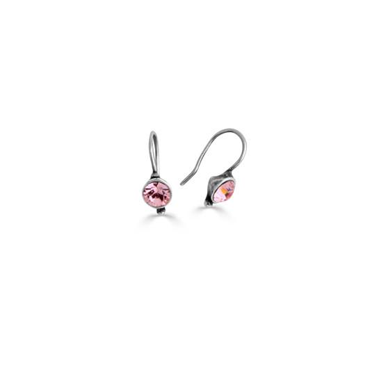 Petite Rosy Drop Earrings