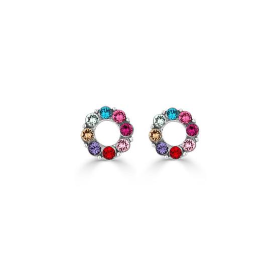 Petite Rainbow Stud Earrings (E4515)-R299