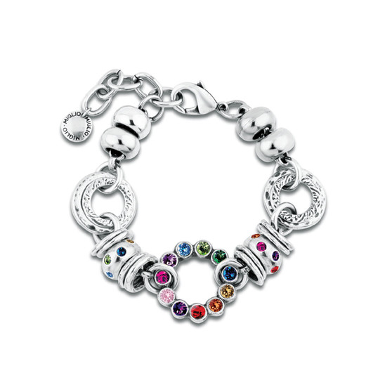 Colourful Gem Bracelet (B1552)-R699