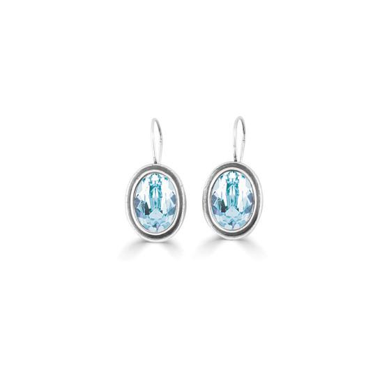 Solace Light Azure Drop Earrings (E4687)