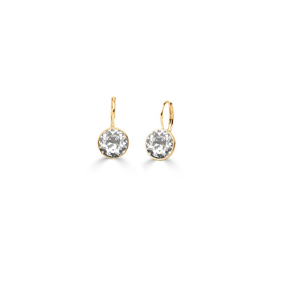 18ct Gold-plated Petite Glam Rock Earrings