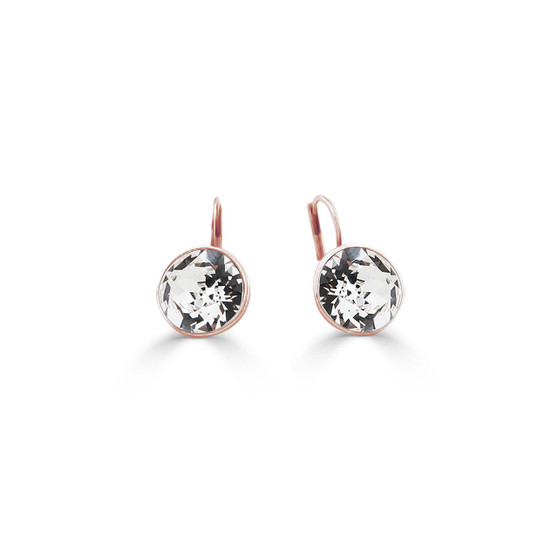 18ct rose gold-plated Bold Glam Rock Earrings