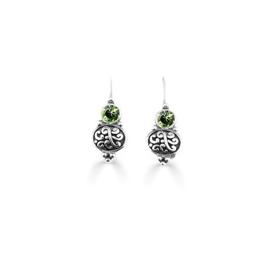 Peridot Amour Drop Earrings (E4740)