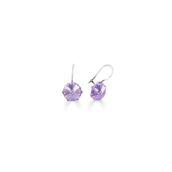 Spirit Of A Woman Violet Drop Earrings