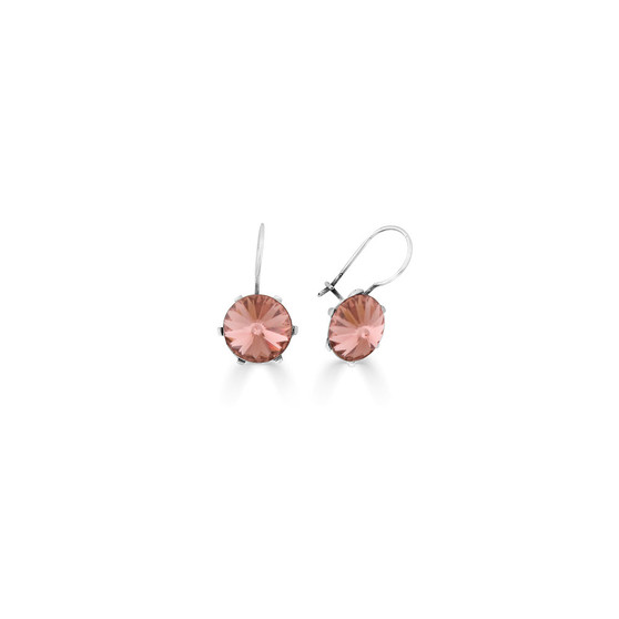 Spirit Of A Woman Blush Rose Drop Earrings