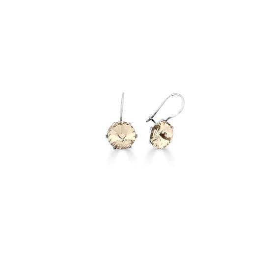Spirit Of A Woman Silk Drop Earrings ( E4765 )