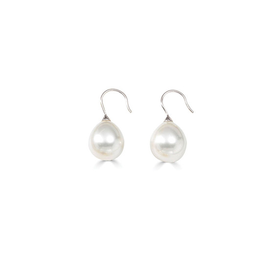 Bold Urban Zen Pearl Drop Earrings (E4778)