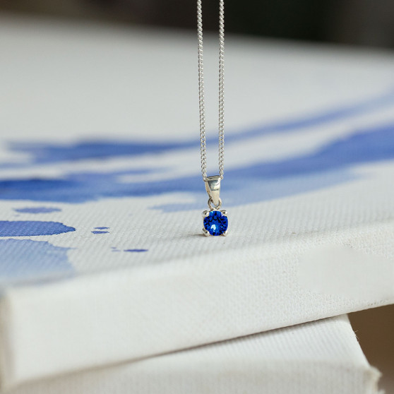 Sterling Silver Necklace With Bold Pendant
