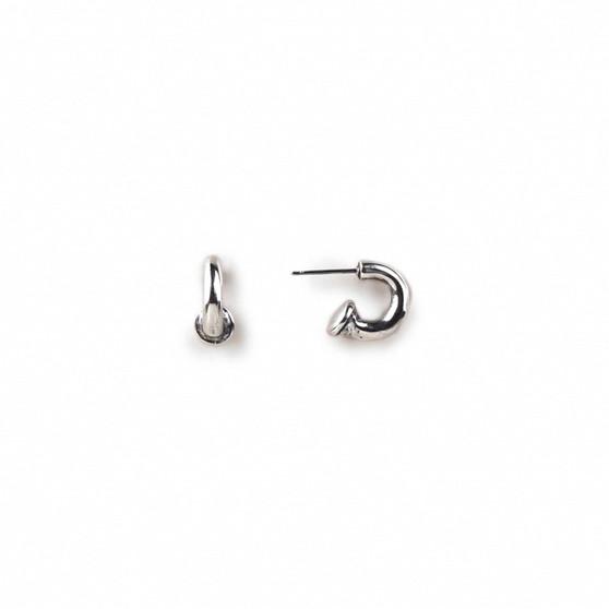 Petite So Sleek Hoop Earrings (E2879)-R149