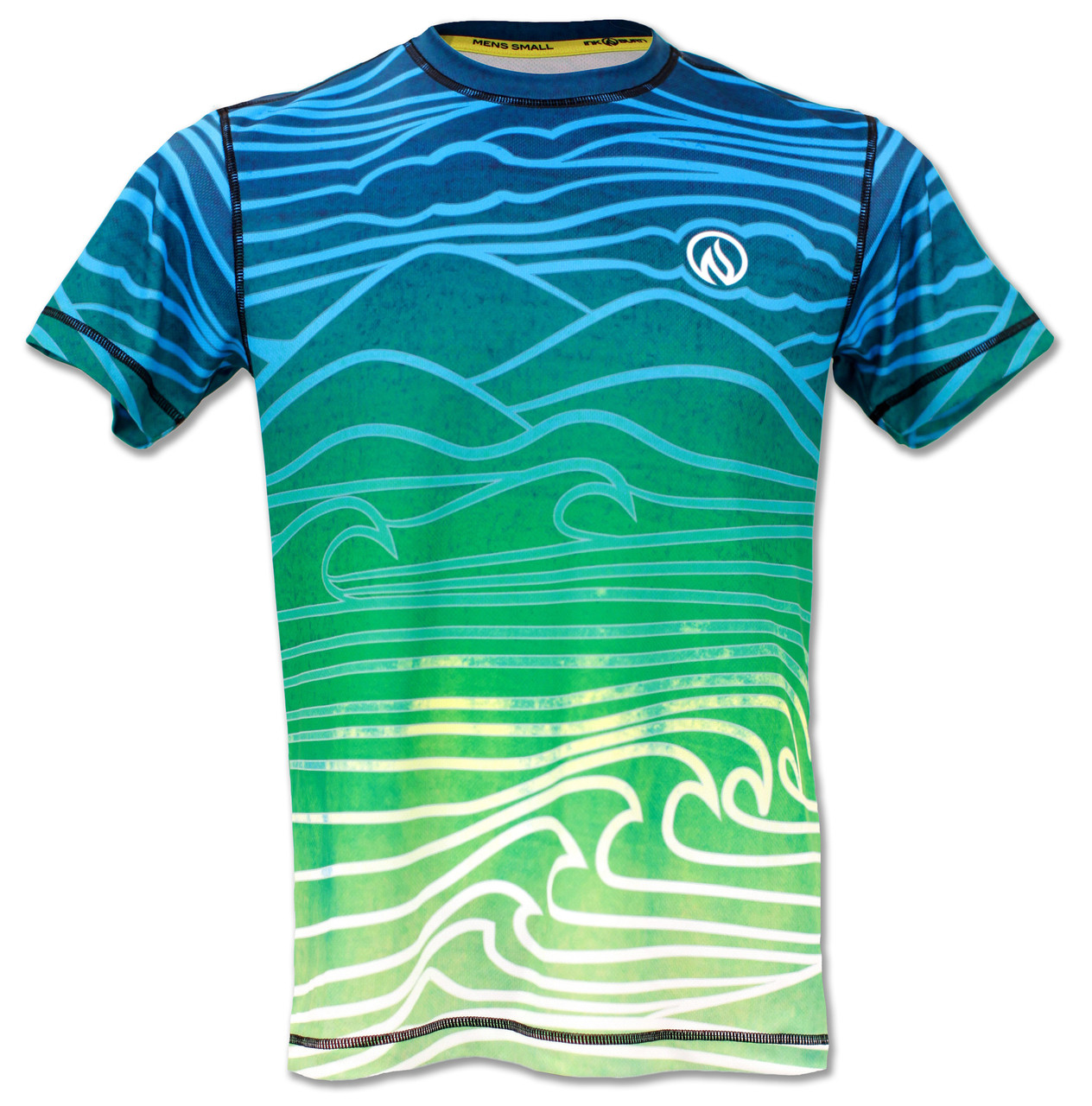 Mens Flow Running Shirt And Athletic Clothing