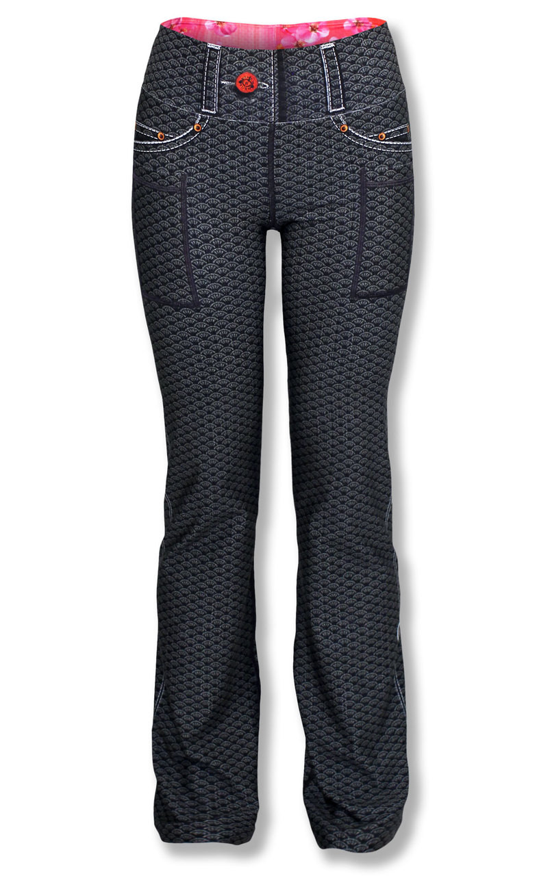 32f6f25e23 Women's Sensu Performance Yoga Pants for workout, running, or yoga