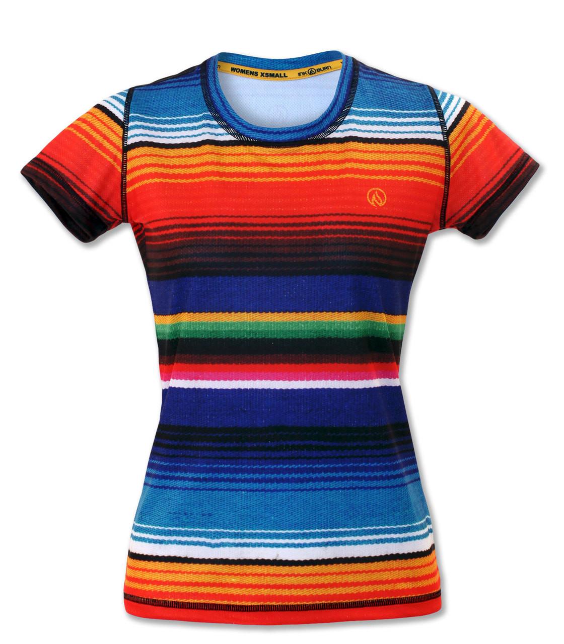 Women s Serape Athletic Shirt for Running 38b969236a