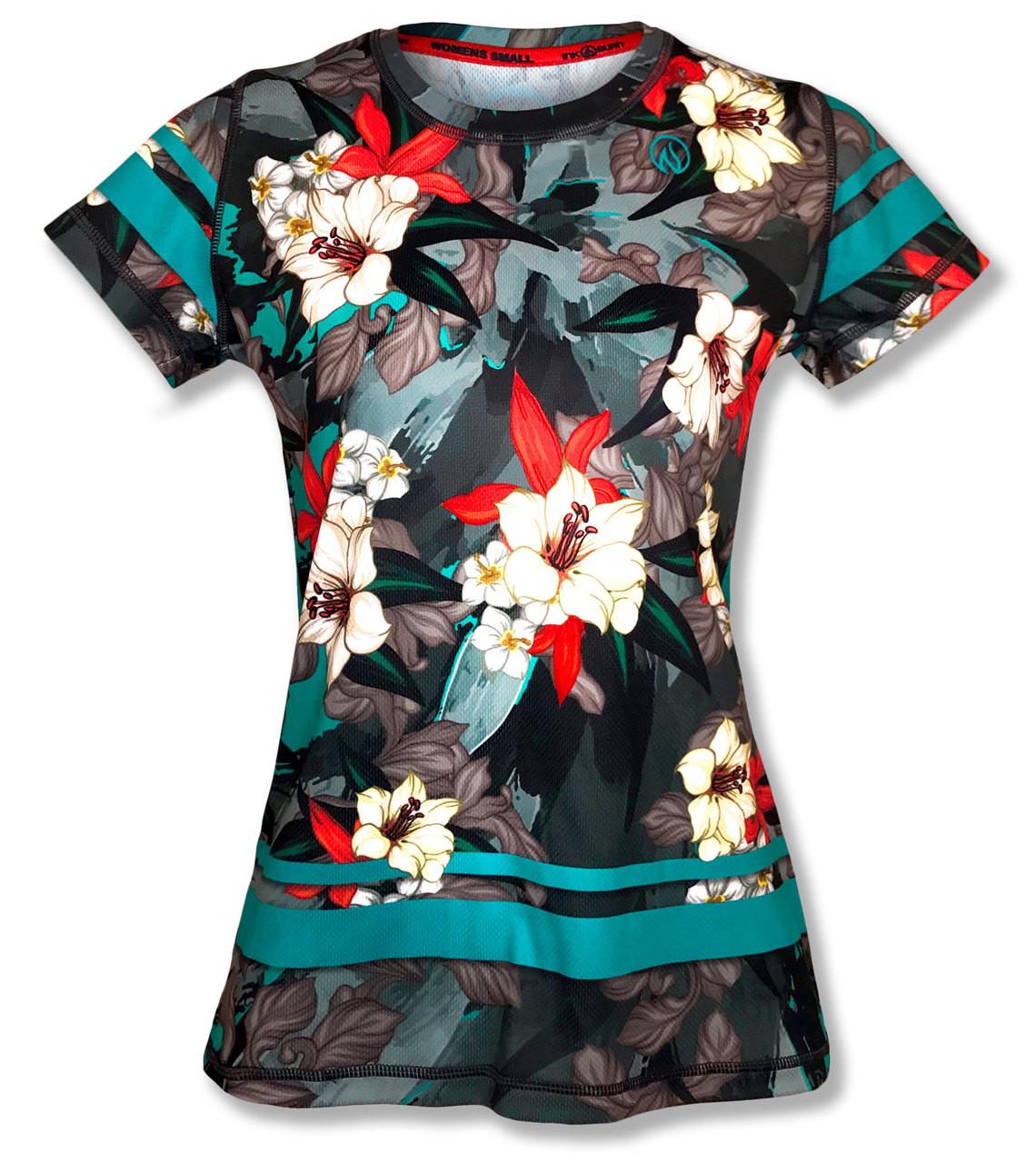 1411de634e490 ... Women s Tropical Tech Shirt · INKnBURN Women s Tropical Tech