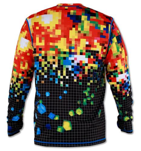 d030cdb04ad8 INKnBURN Men s Club INB Pixel Pullover with Thumbholes ...