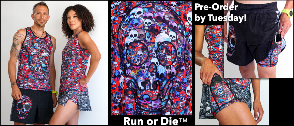 f14538860 Art on Running, Yoga and Workout Clothes for Women, Men by INKnBURN