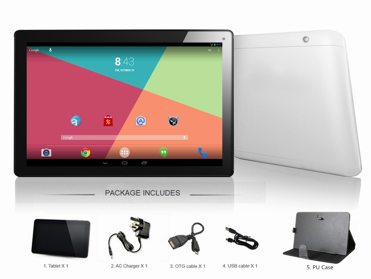 SmartPad Lite 10inch Google Android 4 4 Tablet with Options