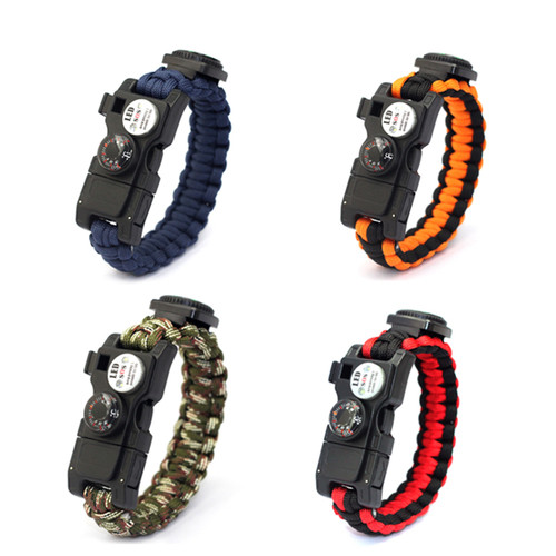 SOS Survival 14 in 1 Multifunction Bracelet
