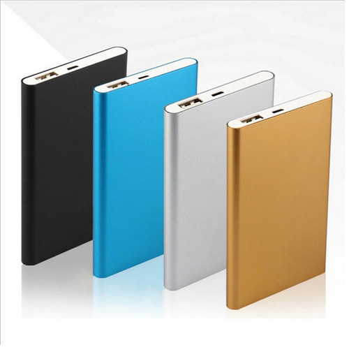 Ultra Thin Portable External Battery Charger Power Bank for Cell Phone