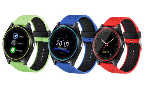 Fashion smart Features 2019 New smart watch Connecting To smart Phones