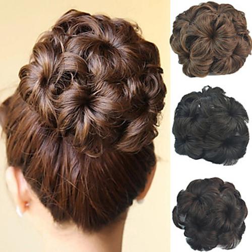 Claw Hair extension bun