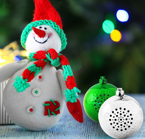 Wireless Bluetooth Christmas Bauble Speaker